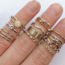 Vintage Graduating Ring in Gold Tone
