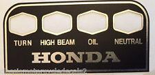 Honda CB500F CB500K CB550 CB750K K3 K4 K5 CB750K2-K6 Consola de advertencia calcomanía