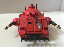Warhammer 40k Space Marine Predator Tank Rogue Trader Era In Blood Angel Theme