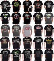 Official Gas Monkey Garage T Shirt Official GMG Logo Kustom Builds new Mens