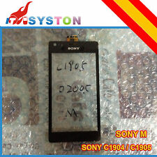Sony Xperia M C1904 C1905 Pantalla tactil negro negra