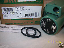 Taco Model 007 HBF5-J Cast Iron Bronze Cartridge Circulator Pump - 1/25 HP