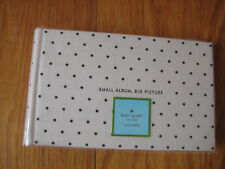 Kate Spade NY black white polka dot deco small PHOTO ALBUM It All Just Clicked