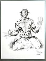 Comic Originalzeichnung | Tom Raney (signiert) | WOLVERINE PinUp