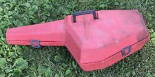 Vintage Homelite Chainsaw Chain Saw Plastic Red Carrying Carry Case Holder
