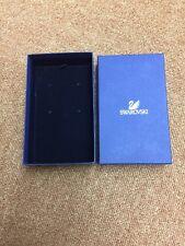 Genuine Swarovski Necklace Pendant Med Size Presentation Blue Box