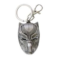 Marvel Black Panther Head Keychain