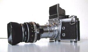 APPAREIL PHOTO ARGENTIQUE EXAKTA IHAGEE DRESDEN VX 1000 CARL ZEISS TESSAR 2.8/50