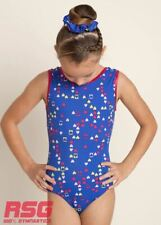 "RS Gymwear, Premium Gymnastics Sleeveless Leotard ""Hearts"" (RSG-426) SALE"