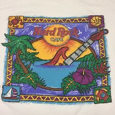 Vintage Key West Hard Rock Cafe Large T-shirt Restaurant Band Bar Beach Sunset