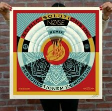 OBEY GIANT SHEPARD FAIREY - NOISE/ARTWORK SIGNED/NUMBERED 38/400 SCREEN PRINT