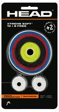 Cabeza Xtreme Suave Rollo raqueta Antivibrador (12 Pack) - Varios Colores