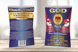 Vintage GOD PACKS | Sealed WOTC Pokémon | WOTC HOLOS + 1ST EDITIONS + RARES