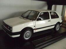 VW Golf 2 II GTI g60 1990 blanco de norev 1:18 nuevo & OVP