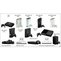 MICROSOFT XBOX SYSTEM CONSOLE - CHOOSE YOUR MODEL!!! - FAST POST!!