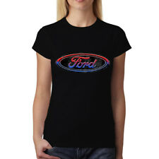 Ford Logo Womens T-shirt S-3XL