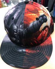 NEW ERA CAP HAT 59FIFTY ALL OVER BATMAN VS SUPERMAN MOVIE DC COMICS Size 7 1/2