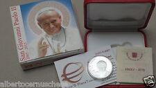 10 euro 2015 Fs PP BE proof VATICANO Vatican Vatikan Giovanni Paolo II Jean Paul