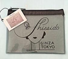 SHISEIDO GINZA TOKYO CLEAR MAKEUP BAG NEW