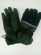 Goodfellow Winter Gloves Ski Gloves Olive Green Black Sz Lg Unisex Brand New
