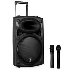 """[OCCASION] DJ PA ENCEINTE ACTIVE 12"""" QTX QR12PA SONO MOBILE 2x MICRO SANS FIL US"""