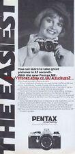 Pentax ME Camera 1977 Magazine Advert #2670
