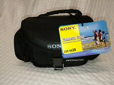 Sony LCS-VA30 Soft Camcorder Carrying Case Camcorders Digital Cameras Accessorie