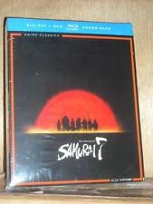 Akira Kurosawas Samurai 7 - The Complete Series (Blu-ray/DVD, 2016, 10-Disc)