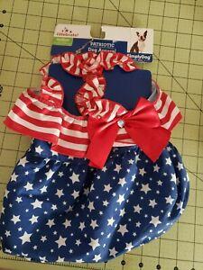 Medium Dog Costume patriotic 4 of July