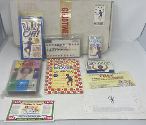 Vtg. Sealed RICHARD SIMMONS Deal-A-Meal Kit -Sealed Tapes, Cards, Book + Extras