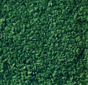 Walthers SceneMaster Static Grass System - Leaves Ground Cover - Dark Green