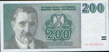 Yugoslavia 200 Dinars 1999. P-152a. aUNC/UNC.