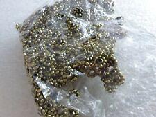 Schmuckherstellung - NEU zwischen Perlen Rondellen 100 Stück Goldfarbe