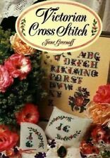 Victorian Cross Stitch by Jane Greenoff Needlework Craft Book 1993 Needlecrafts