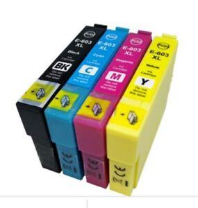 Lot Ink 603XL Cartridge for Epson XP-2100 XP-2105 XP-3100 XP-3105 XP-4100 XP4105