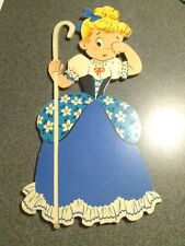 Vintage Little Bo Peep Mother Goose Pin-Ups Childrens Nursery Wall Hangings
