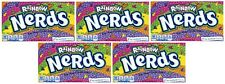 5x Rainbow Nerds Crunchy Candy Theater Box 141.7g American Sweets