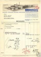 BIELIFELD, Rechnung 1937, Fahrrad-Teile-Fabrik H. Hemmelskamp