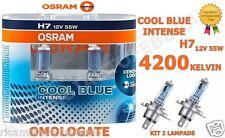 Lampade Lampadine Auto Luce bianca Osram H7 Cool Blue Intense 4200k - 64210CBI