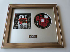 PERSONALLY SIGNED/AUTOGRAPHED CYPRESS HILL - RISE UP FRAMED PRESENTATION.RARE