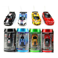 NEW COKE CAN MINI REMOTE CONTROL RACING CAR. XMAS GIFT, STOCKING FILLER, TOY