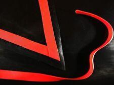Látex Goma Recortar Tiras 0.50mm, 10mm X 200cm, Rojo