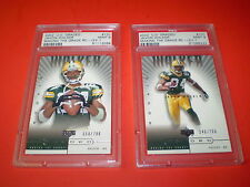 JAVON WALKER GREEN BAY PACKERS PSA 9 Lot of 2 Rookie RC U.D. Football Cards Vtg