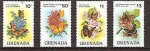 GRENADA MNH Endangered Flora Flowers