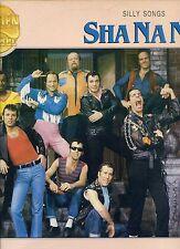 SHA NA NA silly songs HOLLAND EX LP 1982