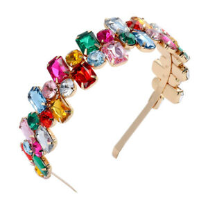 Baroque Embellished Headband Hairband Jewelled Hair Band Accessories Crown Prom