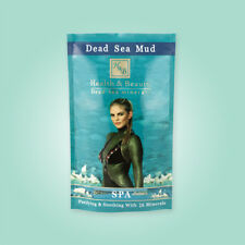 Natural Black Mud 26 Minerals Skin Face Body Mask H&B Dead Sea 600 gr / 20.4 oz