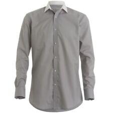 Kustom Kit Polyester Machine Washable Formal Shirts for Men