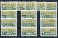 Bund ATM 1.1 TS 1 sauber postfrisch BRD Automatenmarken Tastensatz 1981 MNH