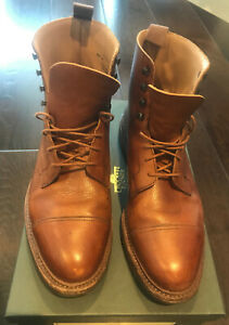 Crockett and Jones - Coniston Tan Scotch Country Grain (as new with box)